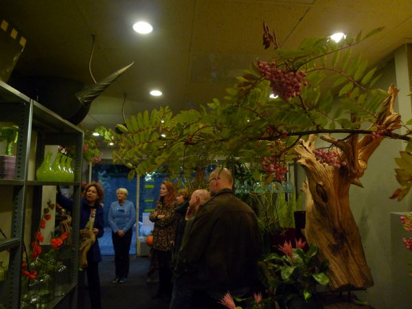 Opening van de expositie