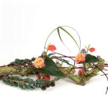 Kerst tafel object