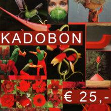 Kadobon 25 euro van Blomatelier