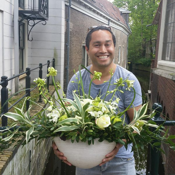 weektraining: Flower table arrangement