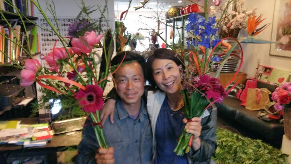 Dutch floral design training