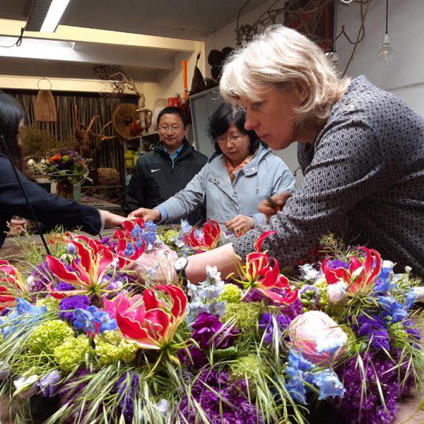 funeral wreath practice