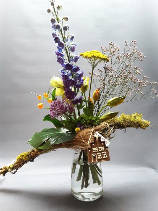 Bloemen voor de Thuiswerker