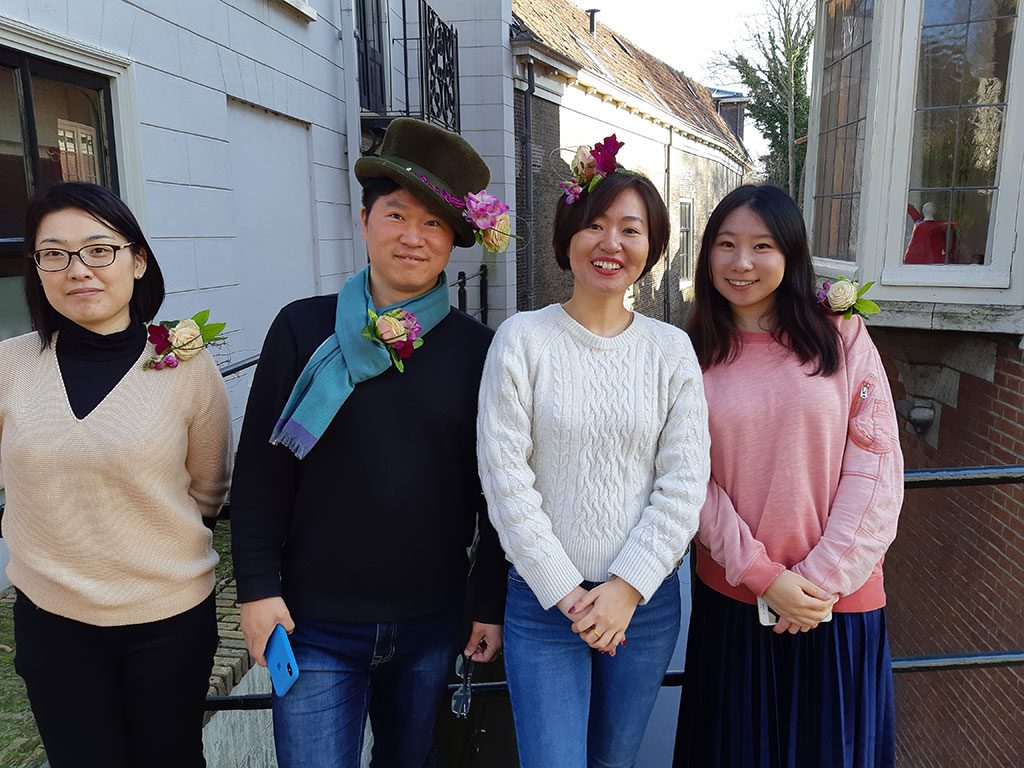 floral students